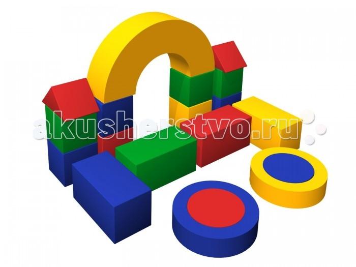 Romana Мягкий конструктор МагазинчикМягкий конструктор МагазинчикRomana Мягкий конструктор Магазинчик - это набор больших разноцветных кубиков, различной формы, для детского строительства.   Особенности: Обучает геометрическим формам, цветам и размерам.  Развивает фантазию.  Подходит как для детских дошкольных и младших школьных учреждений, так и для домашних развивающих игр.    Соответствует требованиям ГОСТ.  Габаритные размеры: 500 х 1800 мм Высота: 1050 мм Количество элементов: 19 шт. Кубик: 300 х 300 х 300 мм - 8 шт. Треугольник: 425 х 300 х 212 мм - 2 шт. Столбик: 600 х 300 х 300 мм - 4 шт. Цилиндр: 400 х 400 х 150 мм - 2 шт. Труба: 600 х 600 х 150 мм - 2 шт. Арка: 900 х 450 х 300 мм - 1 шт.<br>