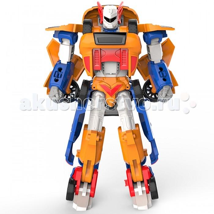 Tobot Робот-трансформер 2 в 1 Мини Тобот-ТитанРобот-трансформер 2 в 1 Мини Тобот-ТитанTobot Робот-трансформер 2 в 1 Мини Тобот-Титан изображает персонажа из сериала Tobot, мощного и непоколебимого воина.   Он собирается из двух трансформирующихся машинок. У тобота подвижные конечности, его можно ставить в различные эффектные и кинематографические положения, дополняя антураж игры или украсив им полку.   Трансформируется Титан достаточно просто. Его нижней частью является синяя машинка, из оранжевой собирается торс. Обе части надежно крепятся друг к другу. К тому же выглядит он весьма впечатляюще. Узнаваемые элементы автомобилей придают роботу очень футуристический вид.   Возраст: от 3 лет<br>