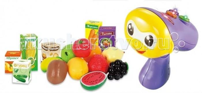 Zhorya Обучающая игрушка Умняшка-сканерОбучающая игрушка Умняшка-сканерZhorya Обучающая игрушка Умняшка-сканер - это не просто сканер, с которым можно поиграть в магазин. Он знает много интересного и готов поделиться знаниями! Выбирайте режим, доставайте из тележки продукты и сканируйте их - сканер расскажет стихотворение, попросит найти среди продуктов определенный предмет или же поможет выучить цвета. Весело и познавательно!<br>