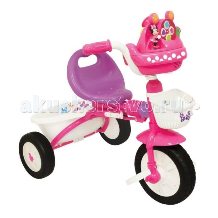 Велосипед трехколесный Kiddieland складной Минни Маусскладной Минни МаусВелосипед трехколесный Минни Маус складной - очень красивый трехколесный велосипед. Такой велосипед создан специально для девочек. Он обязательно понравится Вашему ребенку.   Характеристики: Подойдет для детей от 1 года Велосипед выполнен из высококачественных материалов Рама выполнена из металла Все остальные детали выполнены из пластика Три устойчивых колеса Две удобные корзинки для игрушек и мелочей Велосипед легко складывается и раскладывается Удобное сидение со спинкой Надежная конструкция прослужит долгие годы  Габариты:Д*Ш*В 42см*36см*62см<br>