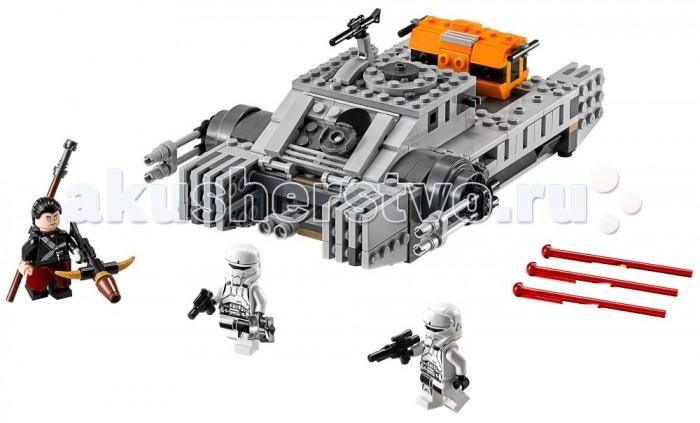 Конструктор Lego Star Wars Имперский десантный танкStar Wars Имперский десантный танкLego Star Wars Имперский десантный танк - помоги Чирруту победить отряд штурмовиков, патрулирующих улицы на имперском десантном танке. Это мощная патрульная машина имеет два места для минифигурок и оснащена подвижной башней с пружинными пушками для уничтожения врагов Империи. Повстанцы скрываются в местах, куда технике путь закрыт? Открой грузовые отсеки, вооружись бластерами и разыграй свою собственную городскую мини-битву!   Собранный танк имеет устрашающий вид, основным его оружием являются двигающиеся пушки. В машине есть открывающаяся кабина и грузовой отсек для боеприпасов. Помоги Чирруту одержать победу над отрядом штурмовиков, вооружись бластерами из грузового отсека и устрой свою мини-битву!  Набор обязательно понравится всем любителям играть в сражения! Игра развивает смекалку, логику и воображение. В его составе 385 деталей, из которых можно соорудить десантный танк и 3 фигурки с аксессуарами: два пилота танка и Чиррута Имве.<br>