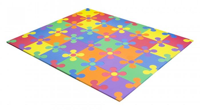 Игровой коврик FunKids пазл Цветы-12