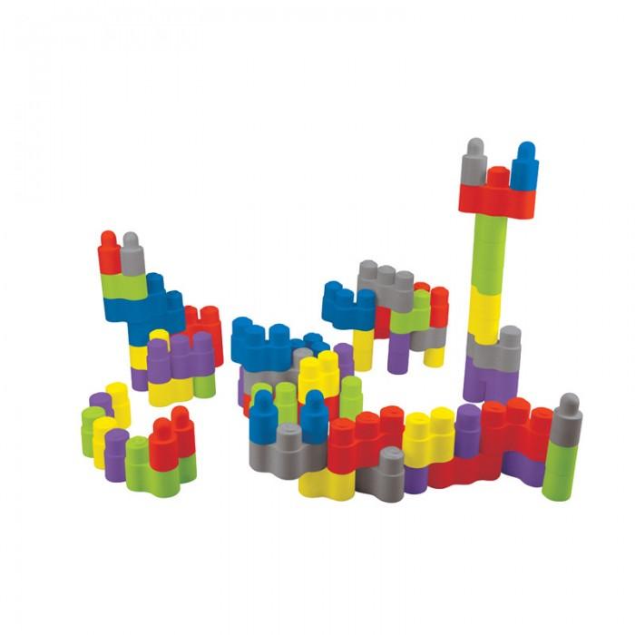 Конструктор KS Kids Игровой набор Мега Блоки 75 деталейИгровой набор Мега Блоки 75 деталейКонструктор KS Kids Игровой набор Мега Блоки 75 деталей включает в себя более семидесяти разноцветных элементов, которые изначально не предполагают конкретного результата. Поэтому только от ребенка будет зависеть, какую форму приобретет конструкция по завершении процесса сборки. Подобный набор позволит ребенку не только проявлять фантазию, но и учиться мыслить абстрактно.  В набор входят: 75 пластиковых деталей, сумка для хранения и переноса деталей.<br>
