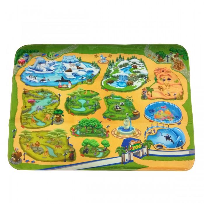 Игровой коврик Teplokid Зоопарк