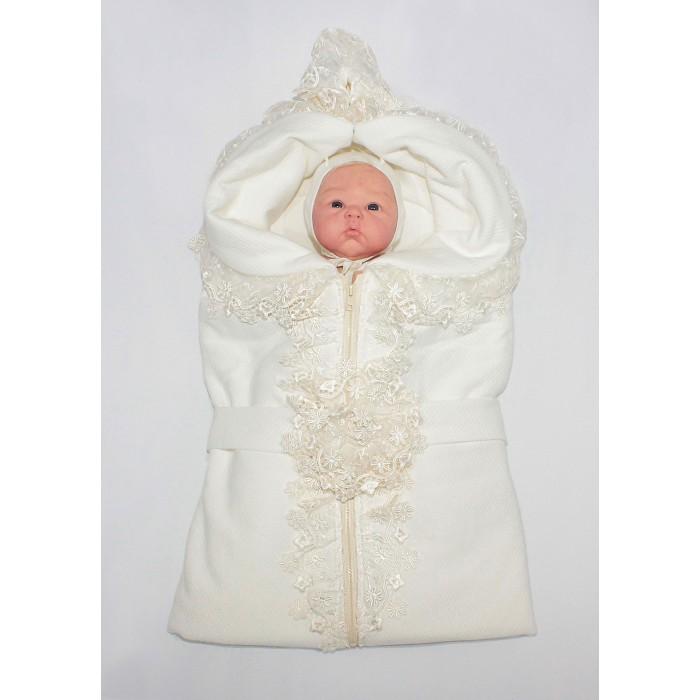Осьминожка Конверт-одеяло К130Конверт-одеяло К130Осьминожка Конверт-одеяло К130 отделан удивительно красивым кружевом и украшен поясом с кружевной розой.   Ткань капитон (85% хлопок) мягкая нежная дышащая, но при этом очень теплая. Внутри хлопчатобумажное полотно - кулир для большего комфорта вашего малыша.   Конверт легко трансформируется в одеяло и подходит для подросшего малыша.  Отлично подойдет как для выписки из родильного дома, так и для повседневных прогулок.  Состав верха: капитон 80% хлопок, 20% п/э, отделка кружево Состав подклада: кулир 100% хлопок.<br>