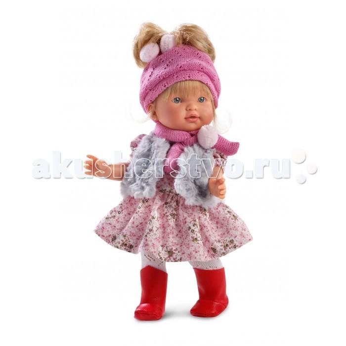 Llorens Кукла Валерия 28 см L 28014Кукла Валерия 28 см L 28014Llorens Кукла Валерия 28 см L 28014 - играть с малышкой будет не только интересно, но и увлекательно, ведь у кукол можно разглядеть не только мимику лица, но и реалистичные складочки на ручках и ножках, которые анатомически точно передают внешние особенности настоящих малышей.  Кукла одета в яркий и стильный наряд!  При изготовлении кукол Llorens используются только сертифицированные материалы, безопасные и не вызывающие аллергических реакций. Тело куклы является мягконабивным, ее ножки и ручки можно двигать, а голову поворачивать в разные стороны.<br>