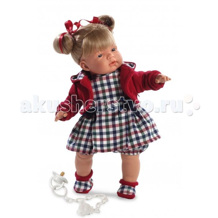 Llorens Кукла Катя 38 смКукла Катя 38 смLlorens Кукла Катя 38 см - играть с малышкой будет не только интересно, но и увлекательно, ведь у кукол можно разглядеть не только мимику лица, но и реалистичные складочки на ручках и ножках, которые анатомически точно передают внешние особенности настоящих малышей.  Кукла одета в яркий и стильный наряд!  При изготовлении кукол Llorens используются только сертифицированные материалы, безопасные и не вызывающие аллергических реакций. Тело куклы является мягконабивным, ее ножки и ручки можно двигать, а голову поворачивать в разные стороны.<br>