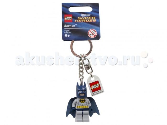 Lego Lego Брелок для ключей Бэтмен брелок для поиска ключей в комплекте свисток цена