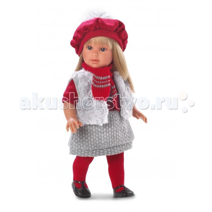 Llorens Кукла Мартина 40 см L 54015Кукла Мартина 40 см L 54015Llorens Кукла Мартина 40 см L 54015 - играть с малышкой будет не только интересно, но и увлекательно, ведь у кукол можно разглядеть не только мимику лица, но и реалистичные складочки на ручках и ножках, которые анатомически точно передают внешние особенности настоящих малышей.  Кукла одета в яркий и стильный наряд!  При изготовлении кукол Llorens используются только сертифицированные материалы, безопасные и не вызывающие аллергических реакций. Тело куклы является мягконабивным, ее ножки и ручки можно двигать, а голову поворачивать в разные стороны.<br>