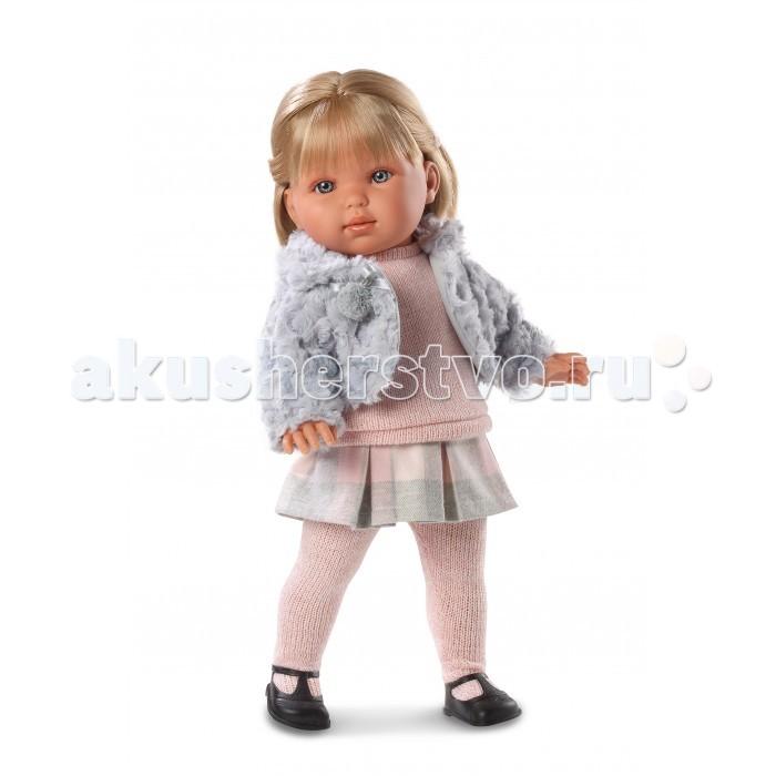 Llorens Кукла Лаура 45 см L 54514Кукла Лаура 45 см L 54514Llorens Кукла Лаура 45 см L 54514 - играть с малышкой будет не только интересно, но и увлекательно, ведь у кукол можно разглядеть не только мимику лица, но и реалистичные складочки на ручках и ножках, которые анатомически точно передают внешние особенности настоящих малышей.  Кукла одета в яркий и стильный наряд!  При изготовлении кукол Llorens используются только сертифицированные материалы, безопасные и не вызывающие аллергических реакций. Тело куклы является мягконабивным, ее ножки и ручки можно двигать, а голову поворачивать в разные стороны.<br>