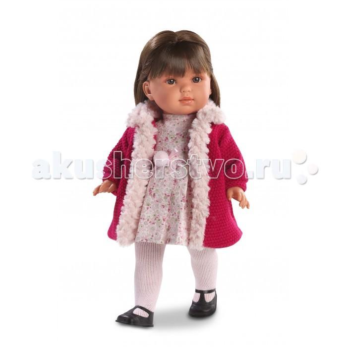 Llorens Кукла Лаура 45 см L 54515Кукла Лаура 45 см L 54515Llorens Кукла Лаура 45 см L 54515 - играть с малышкой будет не только интересно, но и увлекательно, ведь у кукол можно разглядеть не только мимику лица, но и реалистичные складочки на ручках и ножках, которые анатомически точно передают внешние особенности настоящих малышей.  Кукла одета в яркий и стильный наряд!  При изготовлении кукол Llorens используются только сертифицированные материалы, безопасные и не вызывающие аллергических реакций. Тело куклы является мягконабивным, ее ножки и ручки можно двигать, а голову поворачивать в разные стороны.<br>