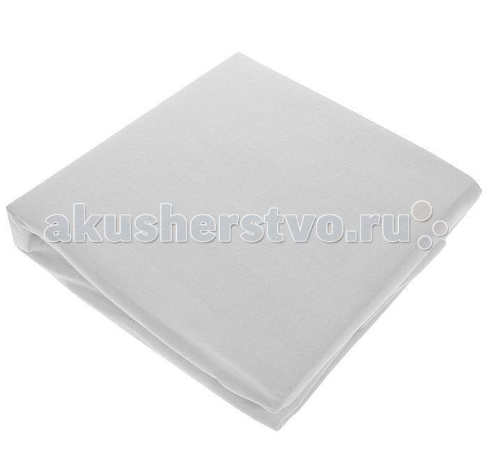 Hippychick Непромокаемая натяжная простынь (хлопок) 90х190 см