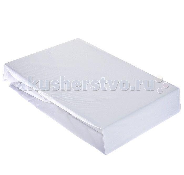 Hippychick Непромокаемая натяжная простынь (tencel) 90х200 см