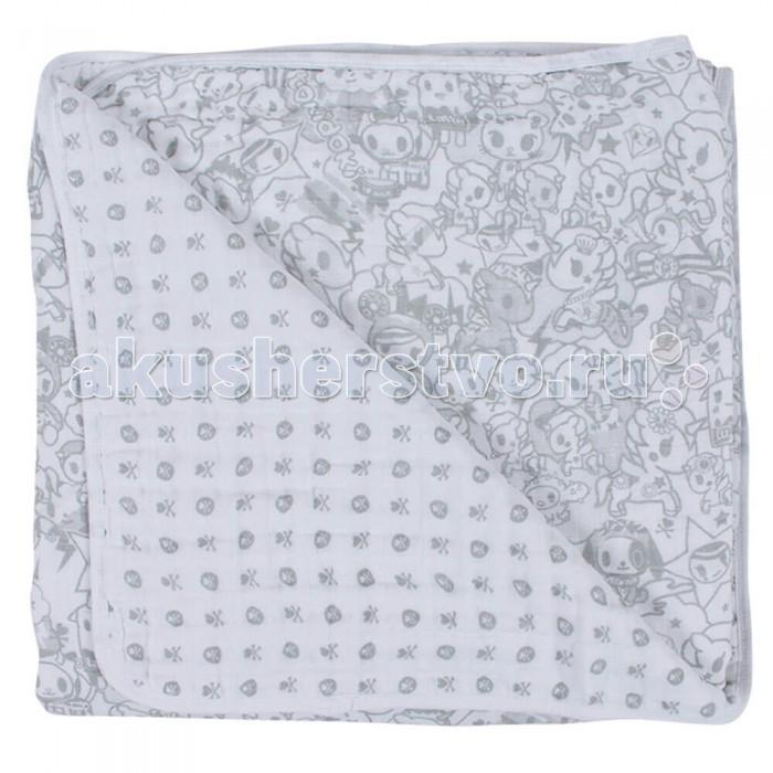 Одеяло Bebe au Lait Муслиновое Unikiki