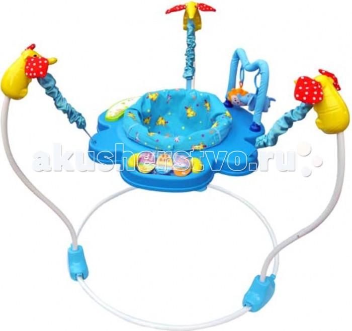 Прыгунки La-di-da с игрушкамис игрушкамиДетские прыгунки La-Di-Da с игрушками помогут развлечь и занять Вашего ребенка. Прочная, свободностоящая конструкция позволяет малышу прыгать свободно и безопасно.   Характеристики: сиденье вращается на 360 градусов музыкальная клавиатура прыгунки оборудованы развивающими игрушками эластичные ремни позволяют прыгать чехол съемный для стирки Максимальный вес ребенка: 12 кг  Прыгунки развивают опорно-двигательную систему, укрепляют костно-мышечный аппарат, улучшают двигательные функции и координацию малыша. Они занимают ребенка, дарят положительные эмоции, способствуют хорошему аппетиту и здоровому сну.<br>
