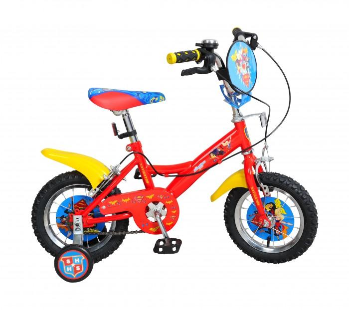 Велосипед двухколесный Navigator Super Hero Girls Kite-типа 12Super Hero Girls Kite-типа 12Двухколесный велосипед Navigator Super Hero Girls Kite-типа 12 подарит радость вашему ребенку.   Особенности:  Однокомпонентный кареточный узел Камеры из натуральной резины Стальные обода Покрышки 12 х 2,125 Задний ручной тормоз Передний ручной тормоз Вставки в колесах Широкие страховочные колеса Звонок Возраст от 3 до 5 лет<br>
