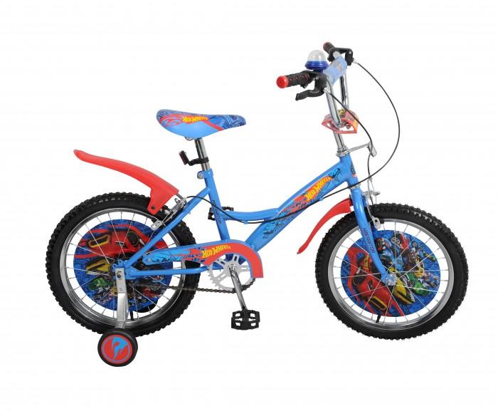 Велосипед двухколесный Navigator Hot Wheels Kite-тип 18Hot Wheels Kite-тип 18Двухколесный велосипед Navigator Hot Wheels Kite-тип 18 подарит радость вашему ребенку.   Особенности:  Широкие страховочные колёса, односоставной шатун, вставки в колесах, пластиковые крылья, звонок-пищалка, мягкая накладка на руле, передний и задний ручной тормоз.<br>