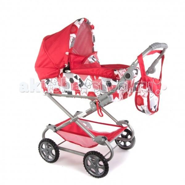 Коляска для куклы Wakart ДарьяДарьяКукольная коляска Wakart Дарья расcчитана на возрастную категорию от 3 до 8 лет, выполнена в стиле настоящих колясок.  Коляска имеет складной капор, сумку для аксессуаров и корзину для игрушек.  Колеса у коляски резиновые, прочно устанавливаются на оси, съемные.  Рама колясок выполнена из полых трубок. Маневренность и управляемость коляски очень высокая.  Коляски этой группы оснащены специальным механизмом против случайного сложения. Основным преимуществом коляски Дарья является простота конструкции.  По периметру люльки проходит металлический тонкий профиль, путем раздвижения опор в противоположные стороны происходит натяжение ткани и формируется люлька. Коляска представлена в широкой цветовой гамме.  Тип - Люлька  Возможность регулировать ручку - ДА  Высота ручки (от пола) - от 40 до 70 см  Габариты коляски ВхШхД 90 х 45 х 85 см  Вес коляски - 5,8 кг   Аксеcсуары: cумка, корзина для игрушек.  Диаметр колес 16 см. Вес коляски: 5,5 кг.  Внимание! Расцветка может отличаться от представленной на фото!<br>