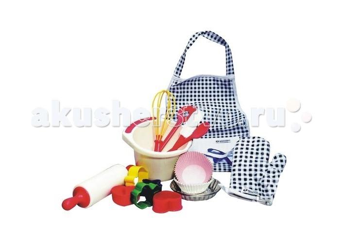 Ролевые игры Spielstabil Набор посуды Кулинар ролевые игры janod набор посуды пикник