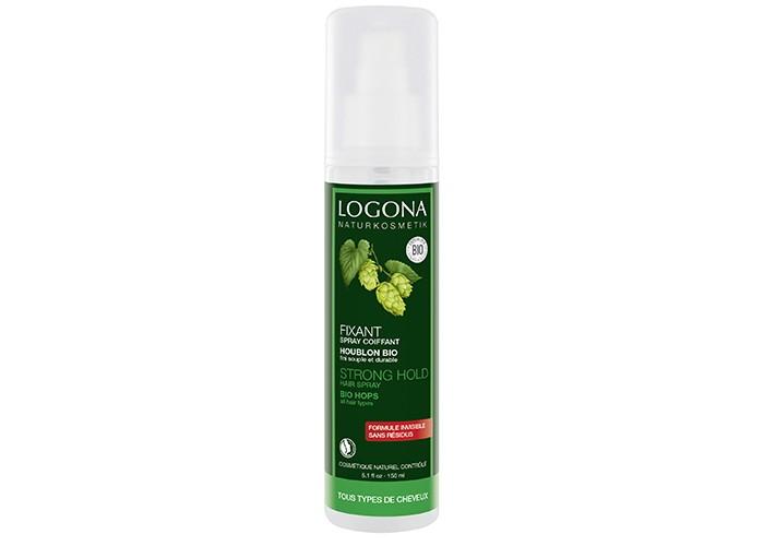 Косметика для мамы Logona Натуральный фиксирующий спрей-лак для волос Био-Хмель 150 мл logona кокосовое масло 45 мл