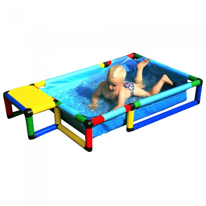 Бассейн Quadro Pool SmallPool SmallБассейн Quadro Pool Small оснащен прочной тканевой основой, которая растягивается по раме QUADRO, собранной из трубок и соединителей.   Этот бассейн готов к использованию в самых разных формах и позволит родителям предложить своим детям первый опыт знакомства с QUADRO и водой. Не представляет опасности при использовании в игровых целях по назначению.  Минимальный возраст ребенка: от 3 лет  Внимание! Предназначен только для домашнего пользования (личного использования) Использовать под непосредственным наблюдением взрослых Максимальная грузоподъемность: 100 кг  Размеры:(Д/Ш/В): 145 х 85 х 25 см Глубина: 20 см Количество деталей: 105<br>