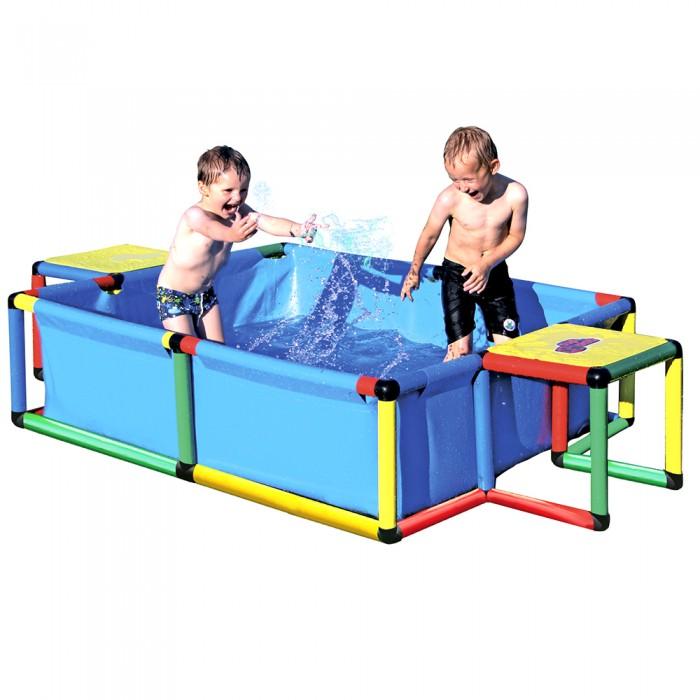 Бассейн Quadro Pool LargePool LargeБассейн Quadro Pool Large оснащен прочной тканевой основой, которая растягивается по раме QUADRO, собранной из трубок и соединителей.   Этот бассейн готов к использованию в самых разных формах и позволит родителям предложить своим детям первый опыт знакомства с QUADRO и водой. Не представляет опасности при использовании в игровых целях по назначению.  Минимальный возраст ребенка: от 3 лет  Внимание! Предназначен только для домашнего пользования (личного использования) Использовать под непосредственным наблюдением взрослых Максимальная грузоподъемность: 100 кг  Размеры:(Д/Ш/В): 245 х 125 х 15 см Глубина: 35 см Количество деталей: 186<br>