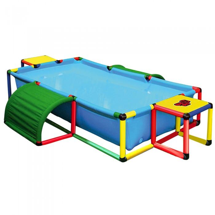 Бассейн Quadro Pool XXLPool XXLБассейн Quadro Pool XXL оснащен прочной тканевой основой, которая растягивается по раме QUADRO, собранной из трубок и соединителей.   Этот бассейн готов к использованию в самых разных формах и позволит родителям предложить своим детям первый опыт знакомства с QUADRO и водой. Не представляет опасности при использовании в игровых целях по назначению.  Минимальный возраст ребенка: от 3 лет  Внимание! Предназначен только для домашнего пользования (личного использования) Использовать под непосредственным наблюдением взрослых Максимальная грузоподъемность: 100 кг  Размеры:(Д/Ш/В): 325 х 125 х 45 см Глубина: 35 см Количество деталей: 268<br>