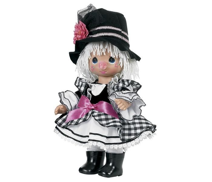 Precious Кукла Клоун девочка 30 смКукла Клоун девочка 30 смКоллекционная кукла Precious Moments Клоун очарует вас и вашу дочурку с первого взгляда!   Кукла одета в веселый костюм клоуна. Очаровательные волосы белого цвета, сплетенные из нитей, дополняют прекрасный образ. На ногах у куклы одеты черные сапоги. На веселом личике девочки большие глаза синего цвета.    Особенности:  Вся одежда съемная.   Кукла изготавливается из качественного, безопасного материала и имеет пять базовых точек артикуляции.   Кукла имеет свой неповторимый образ и характер.   Волосы прошитые, из качественного синтетического волокна или крученых ниток, в зависимости от образа. Рост куклы 30 см.<br>