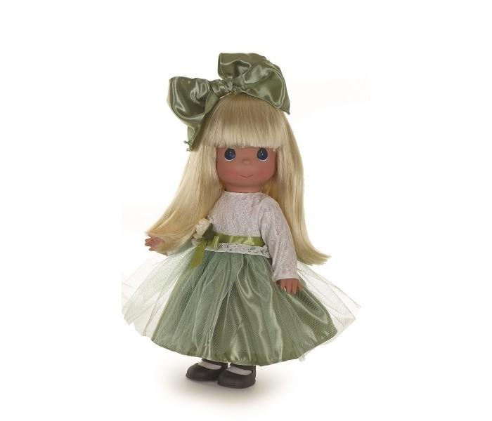 Precious Кукла Симпатичная блондинка в кружевах 30 смКукла Симпатичная блондинка в кружевах 30 смКукла Precious Moments Симпатичная блондинка в кружевах очарует вас и вашу дочурку с первого взгляда!   Кукла очарует вас и вашу дочурку с первого взгляда! Кукла одета в длинное платье с белым кружевным верхом и пышной юбкой. На ногах куколки - черные туфли. У девочки длинные светлые волосы и большие синие глаза.     Особенности:  Вся одежда съемная.   Кукла изготавливается из качественного, безопасного материала и имеет пять базовых точек артикуляции.   Кукла имеет свой неповторимый образ и характер.   Волосы прошитые, из качественного синтетического волокна или крученых ниток, в зависимости от образа. Рост куклы 30 см.<br>
