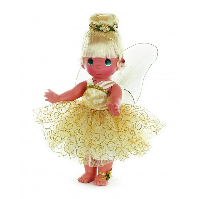Precious Кукла Божественная фея 30 смКукла Божественная фея 30 смКукла Precious Moments Божественная фея очарует вас и вашу дочурку с первого взгляда!   Удивительная коллекционная кукла не оставит равнодушным ни одного ценителя прекрасного. Большинство современных кукол Precious Moments изготавливаются целиком из винила и имеют пять базовых точек артикуляции. Волосы у кукол сделаны из качественного синтетического волокна или крученых ниток, если того требует образ. Куклы одеты в нарядные костюмы, не перегруженные деталями и декором, однако выполненные с тем вниманием к нюансам, которое столь высоко ценится коллекционерами.     Особенности:  Вся одежда съемная.   Кукла изготавливается из качественного, безопасного материала и имеет пять базовых точек артикуляции.   Кукла имеет свой неповторимый образ и характер.   Волосы прошитые, из качественного синтетического волокна или крученых ниток, в зависимости от образа. Рост куклы 30 см.<br>