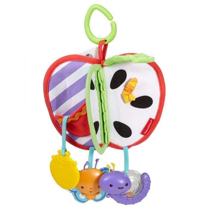 Подвесные игрушки Fisher Price Mattel Яблочко с прорезывателем прорезыватель fisher price яблочко