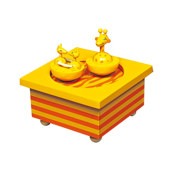 Шкатулки Trousselier Музыкальная шкатулка Wooden Box Жираф шкатулки patricia шкатулка для медикаментов 16 13 7 26см