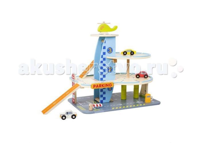 Конструктор Classic World набор Мой любимый гаражнабор Мой любимый гаражClassic World набор Мой любимый гараж - игрушка является полноценной игровой площадкой, позволяющей воссоздавать ситуации из различных областей работы современных гаражей. Кроме того, ребенок может устраивать настоящие гонки и погони – крутые спуски с каждого уровня парковки способны придать машинке хорошее ускорение. В игрушку весело играть самостоятельно и в компании.   Все это способствует социализации ребенка, активизирует его фантазию и воображение, а также учит правильно организовывать пространство. Элементы конструктора выполнены из натурального дерева и окрашены безопасными детскими красками.  В наборе  трехуровневая парковка заправка вертолетная площадка шлагбаум 2 машинки и вертолет.<br>