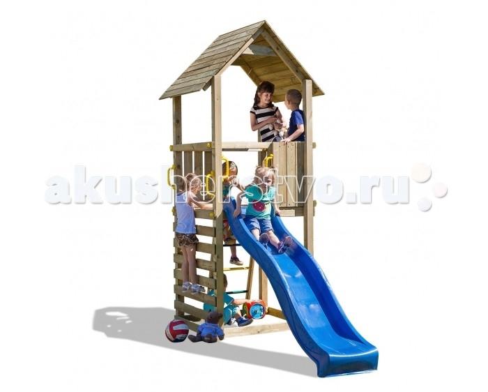 Paremo Игровой набор для детской площадки PS217-02Игровой набор для детской площадки PS217-02Paremo Игровой набор для детской площадки PS217-02 идеальное решение для небольшого сада.   Детская игровая деревянная площадка на 6 мест: домик с песочницей, крышей, горкой  Размер площадки: 100 х 100 см Высота платформы: 125 см Длина скольжения: 2.2 м Максимальное количество играющих: 6 человек Составляющие части: горка 2.2 м, крепления к земле, ручки, лестница с металлическими ступеньками, набор древесных и металлических соединений, пошаговая инструкция по сборке с инструкцией по технике безопасности, скаладром  Вес: 143 кг Материалы: дерево Размеры (габариты): 121 x 310 x 290 см<br>