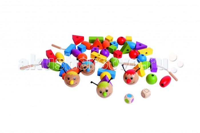 Развивающая игрушка Beleduc XXL Рондо ВариоXXL Рондо ВариоBeleduc XXL Развивающая игра Рондо Варио в которую можно играть самыми разными способами, понравится как малышам, так и детям постарше.   В процессе игры малыши развивают мелкую моторику, а дети постарше - быстроту реакции. Игроки также изучают цвета и формы.   Для игры используются кубик с цветными символами и кубик с геометрическими фигурами. В зависимости от выпадающих цветов и фигур, игроки выбирают нужные детали и складывают из них разноцветных гусениц. Победителем станет тот, кто первым сделает гусеницу из 6 деталей.  Особенности:  игрушка выполнена из экологически чистого материала - имеет гладкую, отполированную поверхность окраска нетоксичными и не содержащими вредных веществ красками на водной основе<br>