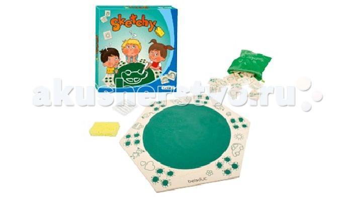 Развивающие игрушки Beleduc Развивающая игра Скетчи beleduc развивающая игрушка зоопарк