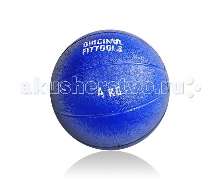 Original FitTools Тренировочный мяч 4 кгТренировочный мяч 4 кгOriginal FitTools Тренировочный мяч 4 кг используется для проведения различных тренировок с отягощениями - приседания, выпады, тренировка рук, тренировка пресса. Не предназначен для бросков в стену или на пол.  Уход за изделием: протирать мягкой тканью, смоченной в мыльном растворе, не рекомендуется использовать растворители<br>