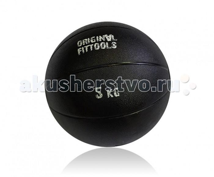 Original FitTools Тренировочный мяч 5 кгТренировочный мяч 5 кгOriginal FitTools Тренировочный мяч 5 кг используется для проведения различных тренировок с отягощениями - приседания, выпады, тренировка рук, тренировка пресса. Не предназначен для бросков в стену или на пол.  Уход за изделием: протирать мягкой тканью, смоченной в мыльном растворе, не рекомендуется использовать растворители<br>