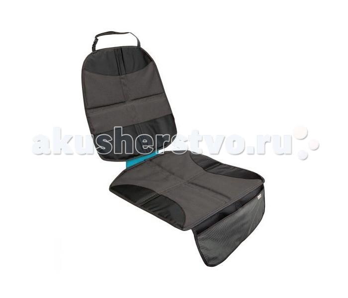 Munchkin Защитный чехол для сиденья GuardianЗащитный чехол для сиденья GuardianMunchkin Защитный чехол для сиденья Guardian в течение многих лет будет оберегать салон автомобиля от повреждений.   Особенности: Чехол обеспечивает защиту от пятен, крошек и потертостей, которые возникают после установки автокресла.  Специальная система Xtra-Grip Traction Pads предотвращает скольжение.  Чехол просто фиксируется и подходит для любого типа сиденья.  Модель выполнена из легкого, но прочного водостойкого текстиля, который очень прост в уходе.  Внизу чехла - вместительный карман для хранения различных мелочей.<br>