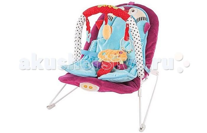 Жирафики Детское кресло-качалка ПингвиненокДетское кресло-качалка ПингвиненокЖирафики Детское кресло-качалка Пингвиненок с анатомической вкладкой, 3-мя развивающими игрушками, вибрацией и музыкой создан для младенцев. Этот замечательный шезлонг родители малыша оценят по достоинству, а ребенку в нем будет комфортно и интересно.  Кресло-качалка вполне устойчиво и комфортабельно. Матрас, выполненный в форме веселого пингвина, эргономичный, повторяет формы ребенка и распределяет центр тяжести, что важно для крепкого сна и безвредно для неокрепшего позвоночника карапуза.   Сам шезлонг оснащен ремнем безопасности, чтобы даже самый активный малыш был огражден от возможности падения. Кроме того, кресло снабжено приятной колыбельной музыкой и веселыми погремушками.<br>