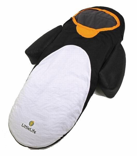 Спальный конверт LittleLife ПингвинПингвинГде ещё можно весело отдохнуть или поспать как не в спальном мешке Пингвин? Спальный мешок в виде пингвина обеспечит комфортный сон ребенку в путешествиях, на даче или дома.   Мягкий на ощупь материал, теплый и очень удобный мешок порадует любого ребенка. Комплектуется матрасом. Удобный, легкий, компактный.  Особенности: Предназначен для детей в возрасте от 18 месяцев и до 4 лет Надувной матрас с насосом Крылья-позиционеры Материал спального мешка: вверх-хлопок, низ-флис, наполнитель- холлофайбер   В комплекте: насос, рюкзак-пингвин для транспортировки и хранения.  Размеры: 18х90х140см  Размеры спального места: 140х50см<br>