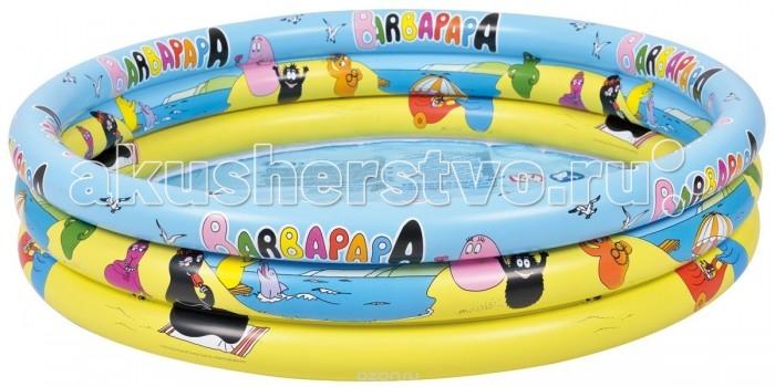 Бассейны Jilong надувной Barbapapa 3 - Ring 150х23 см jilong barbapapa 3 ring pool jl017379npf