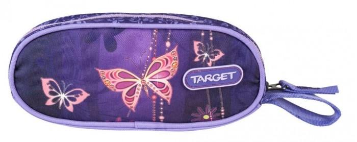 Пеналы Target Collection Пенал овальный Золотая бабочка пенал овальный цветение target