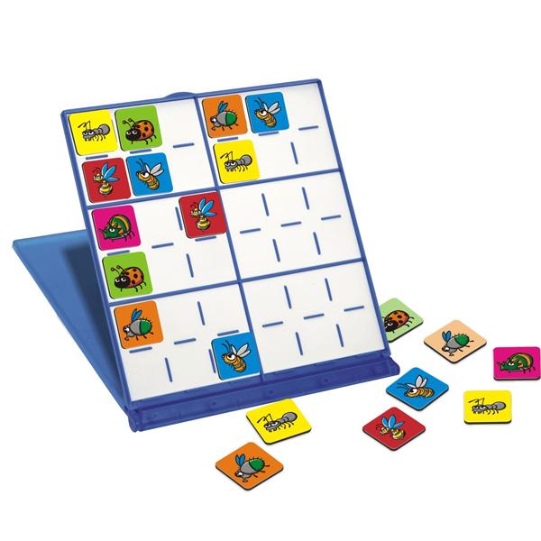 Игры для малышей Miniland Магнитная игра Судоку miniland магнитная игра портреты