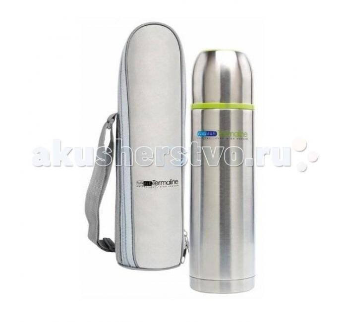 Термос Bebe Due с клапаном для раздачи жидкости 500 млс клапаном для раздачи жидкости 500 млТермос Bebe Due с клапаном для раздачи жидкости 500 мл выполнен из высококачественной нержавеющей стали, не содержит вредных веществ. Поддерживает температуру напитка до 8 часов, в зависимости от температуры заливки. Может сохранять как горячую, так и холодную температуру напитка.   Встроен съемный клапан для раздачи жидкости, который служит системой не проливания, на случай если термос опрокинется в открытом состоянии. Ударопрочный, герметичный, удобная форма, крышка используется как стакан. Незаменимый помощник на длительных прогулках, путешествиях, тренировках, при посещении роддомов и больниц. Можно мыть в посудомоечной машине, кроме клапана!   С термосом в наборе идет сумка переноска на ремешке.<br>
