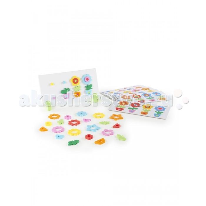 Сортер Guidecraft магнитный Цветы в горшкахмагнитный Цветы в горшкахGuidecraft Сортер магнитный Цветы в горшках Flower Pot Sort and Match - отличный способ изучить цвета и формы, последовательность и закономерности во время веселой игры. Набор содержит 44 магнитных детали, игровое поле-доску для крепления, 6 двусторонних карточек с заданиями.<br>