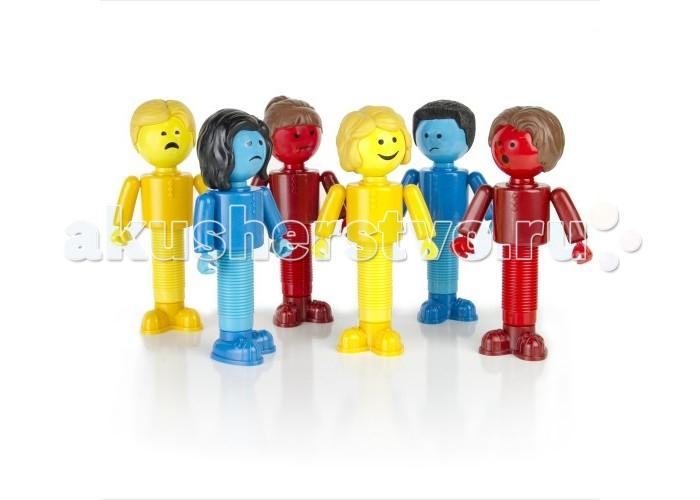 Guidecraft Игровые фигурки Better Builders Набор ЭмоцииИгровые фигурки Better Builders Набор ЭмоцииGuidecraft Игровые фигурки Better Builders Набор Эмоции включает 6 различных фигурок с эмоциями, которые малыш способен выделить и опознать: счастливый, грустный, сердитый, удивленный, смущенный и испуганный. Набор сочетает несколько аспектов игры - сортировка по цвету, ролевая игра и конструктор полностью совместимый со всей серией Better Builders. Набор состоит из оригинальных магнитных брусков и шаров серии с 6 персонажами дополненными атрибутами: 3 мужских и 3 женских.<br>