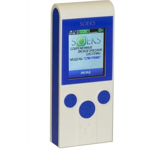Soeks Дозиметр 01М Прайм индикатор радиоактивности