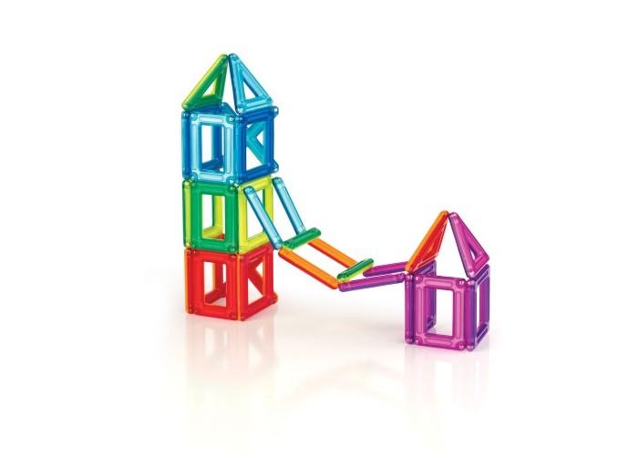 Конструктор Guidecraft магнитный PowerClix Frames 26 деталеймагнитный PowerClix Frames 26 деталейGuidecraft Конструктор магнитный PowerClix Frames 26 деталей с деталями эргономичной формы из цветного пластика. Из конструктора PowerClix можно создавать 2D и 3D фигуры. При помощи эргономичных деталей можно создать здания, животных и другие фигуры, которые встречаются в природе.  Каждому ребенку понравиться такой конструктор. Развивает пространственное мышление, моторику пальчиков и творческое воображение. Почувствуй силу магнита и откройте для себя возможности PowerClix.<br>