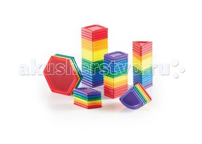 Конструктор Guidecraft магнитный PowerClix Solids 70 деталеймагнитный PowerClix Solids 70 деталейGuidecraft Конструктор магнитный PowerClix Solids 70 деталей имеют яркие, прочные полупрозрачные  и геометрические формы, которые позволяют создавать конструкции вдохновляющие на творчество. Такой конструктор предназначен для обучения и исследования сплошной геометрии. При создании цельных конструкций улучшается понимание построения объемных объектов, принципов соотношения массы и объема.   Магниты никогда не отталкиваются, поэтому создание 2D или 3D моделей легко. Уникальных форм создают неограниченные возможности для строительства.<br>